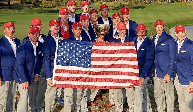 US Win Presidents Cup 2015