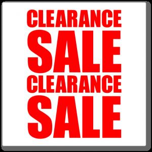 Golf Clearance Sale