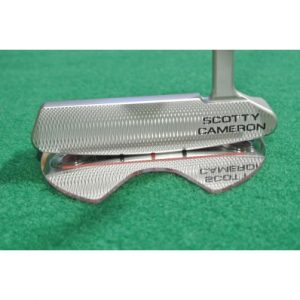 Golf Target Mirror with Putter