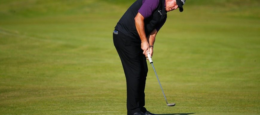 Phil Mickelson at The Open: No driver, driving iron, new putter?